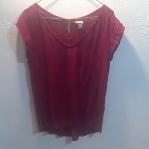 Verona BURGANDY Blouse